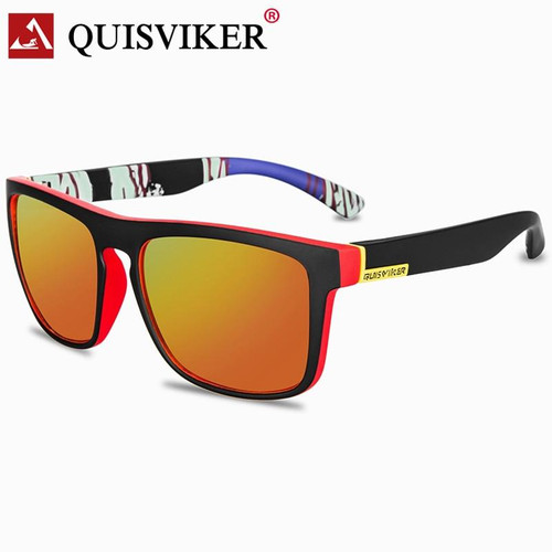 QUISVIKER Brand Design Polarized SunGlasses Men Women Outdoor Sport Goggles