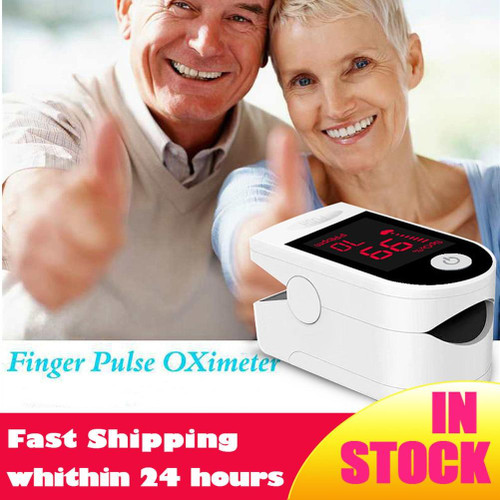 Blood Oxygen Monitor Finger Pulse Oximeter Oxygen Saturation Monitor (without Battery)