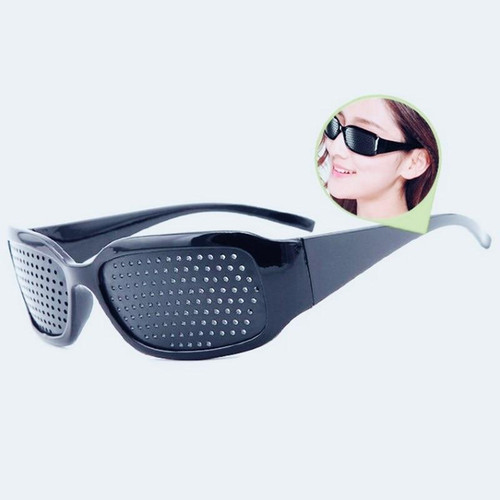 Cycling Eyewear Pin Hole Sunglass Eye Training Glass Pinhole Glasses
