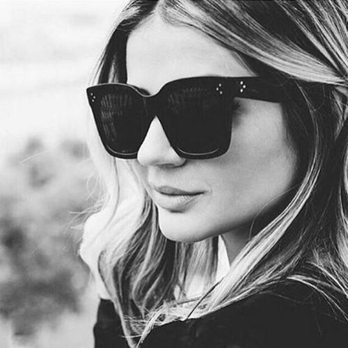 Fashion Cat Eye Sunglasses Women Brand Designer Luxury Oversized Lady Summer Style  UV400
