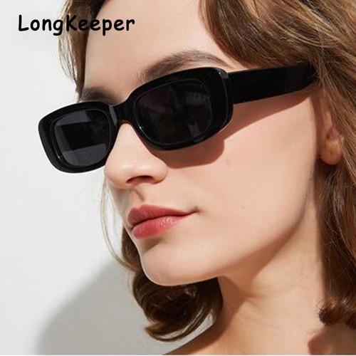 2020 Sunglasses Women Brand Designer Retro Sunglass Small Square Cat Eye