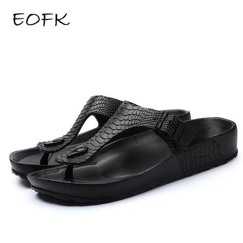 EOFK New Women Flip Flops Summer Shoes Woman Outside Beach Slippers