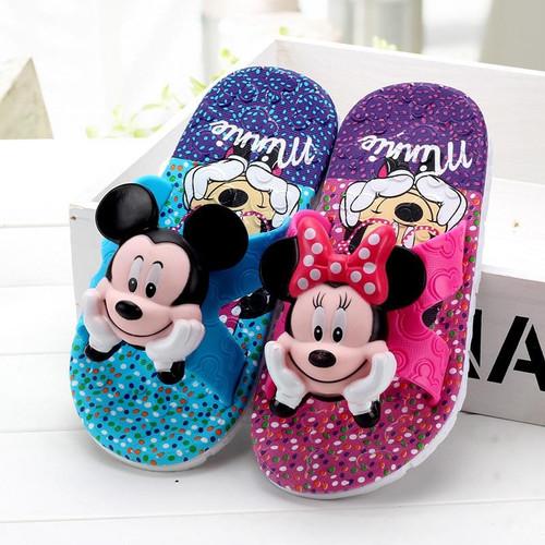 Boys Girls Slippers Summer Flip Flop Children's Sandals 3d