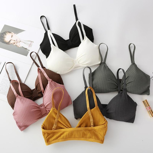 Teenage Young Girls Bra Cotton Underclothes Bra for Girl