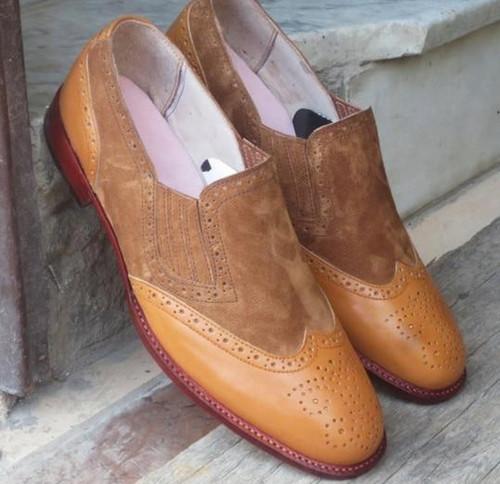 Men Pu Leather Shoes Casual Shoes Dress Shoes Brogue Shoes