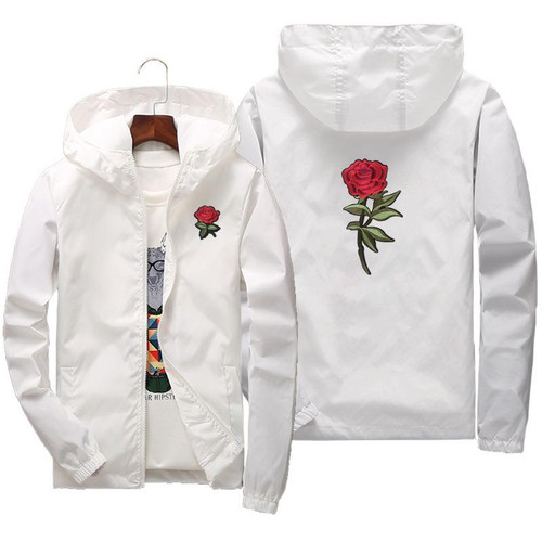 2020 Spring Summer Rose Jacket For Men and Women Coat US Size XS-XXXL