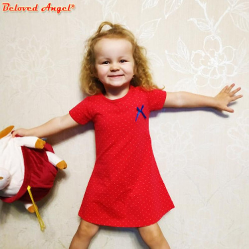 Girls Dress Baby Girl Clothes Summer Style Kids Dresses for Girls