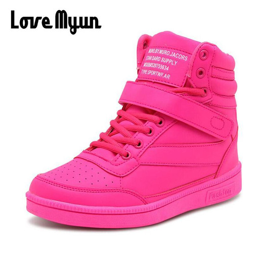 Woman Breathable High  Shoes Women Sneakers Shoes