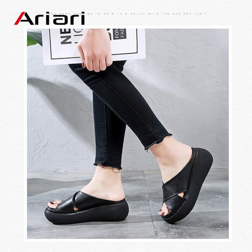 2020 Fashion Female Slippers Beach Flip Flops Casual Sandals
