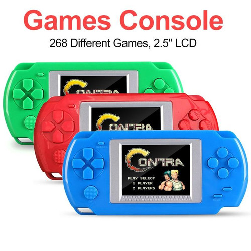 Mini Video Game Console With 268 Different Games 502 Color Screen Display Handheld Game Consoles Retro Game Player For Kids Gift
