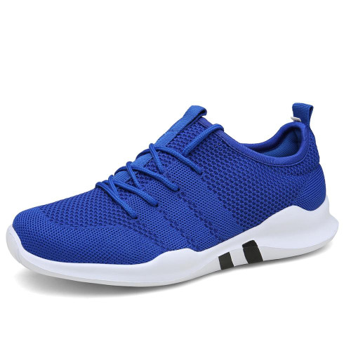 Hot sale Men Running Shoes Mesh Breathable Jogging Sneakers Lightweight Outdoors Fitness Sport Shoes Male four seasons trainers - Joelinks store