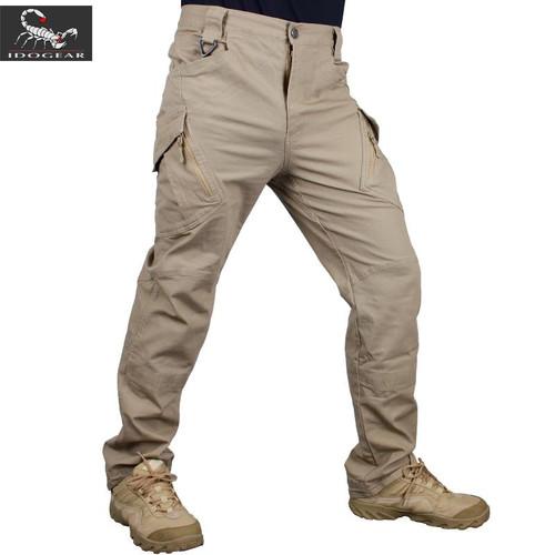 IDOGEAR IX9 Duty Tactical Pants hunting combat Trousers Airsoft camoflage Gray Khaki