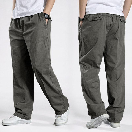 Harem tactical Pants 2020 Sagging cotton pants for men Trousers plus size sporting