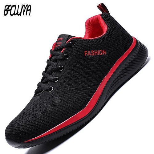 Summer Breathable Men's Casual Shoes Mesh Breathable Man Casual Shoes