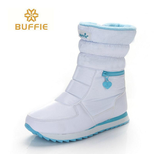 white winter boots women fashion snow boots new style 2018 women's shoes Brand shoes high quality fast free shipping girlw boots - Joelinks store