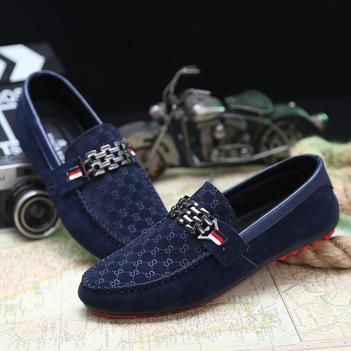 Summer Shoes Men Flats Slip On Male Loafers Driving Moccasins