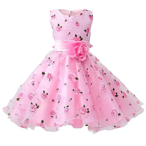 Retail Flower Dress Sashes Wedding Party Girl Dress