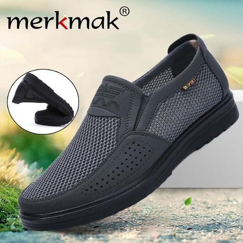 Merkmak Comfortable Men Casual Shoes for Summer