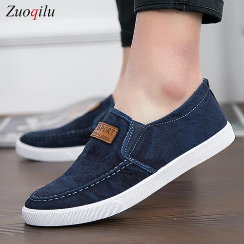 Casual Denim Male sneaker Loafers For Men