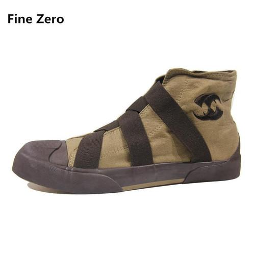 Fine Zero Men High Top Shoes Flats Slip On Casual Shoes Male Canvas Shoes Plimsolls Espadrilles Man Trainers Zapatillas Hombre - Joelinks store
