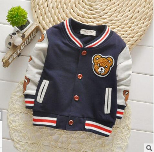 Children's  Zipper Spring Shirt for Boy Kids