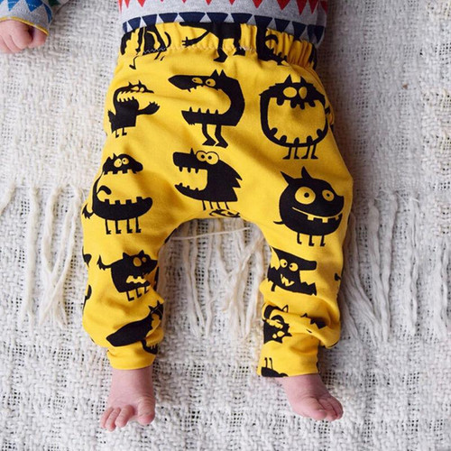Cotton Loose pants for  Infant Children