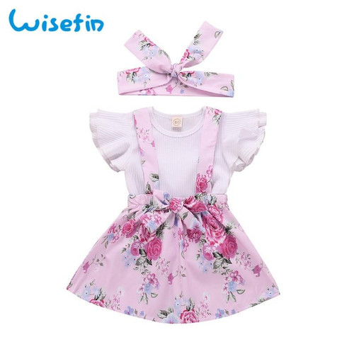 Lovely Summer Clothing For Girls Kids Todlers  butterfly Outfit