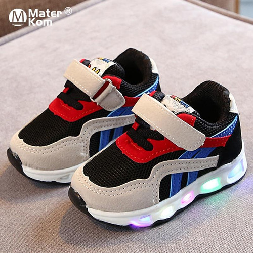 Lighted Sneakers Glowing Shoes for Toddlers Boys Girls