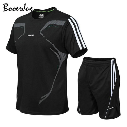 Summer S Fitness Suit Quick-drying Short Tracksuit For Men