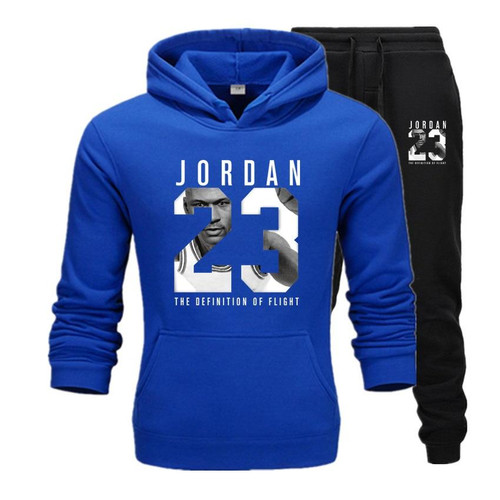 Jordan 23 Tracksuit  Suit Fleece Hoodie For Men