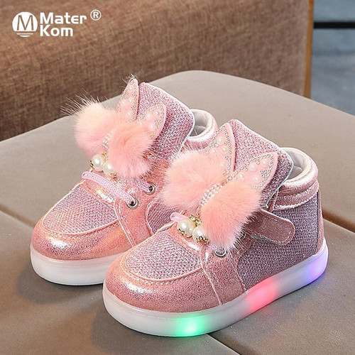 Led Glowing Sneakers For Girls Glowing Kids Shoes for Toddlers, Kids, Girls