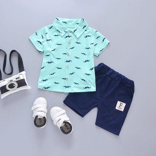 Elegant Casual Summer Clothing Set for Boys