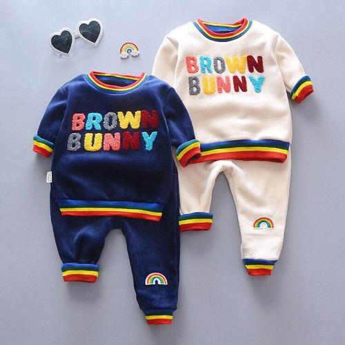 New Autumn Winter Cotton Clothes for Girl Boys Children