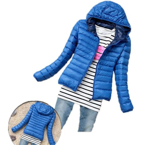 Hot Sale Women Cotton Jacket Hooded Women Coat Plus Size