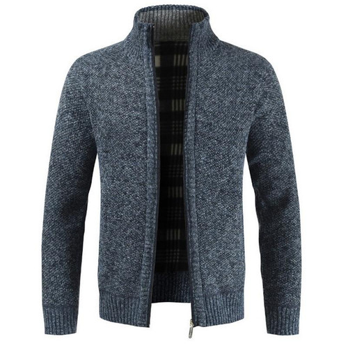Autmn Sweater Cardigan for Men Brand Slim Fit Knitwear Outwear