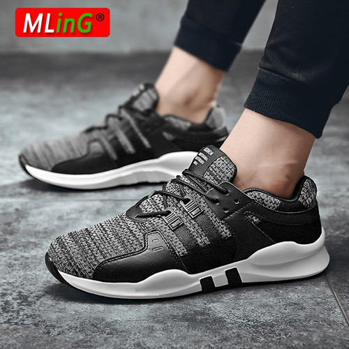 New Arrival Male Trainers Comfortable Outdoor Sport Shoes Men Sneakers Breathable Running Shoes For Men Jogging Athletic Shoes - Joelinks store