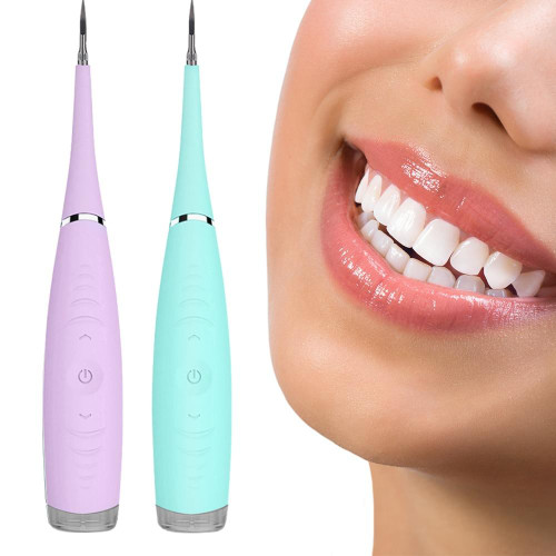 Ultrasonic Sonic Dental Scaler Calculus Plaque Remover Tool Kit Tooth Stains Tartar Cleaner