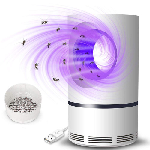 Solar Power indoor Mosquito Killer Lamp Waterproof Lamp Electric USB  Plug