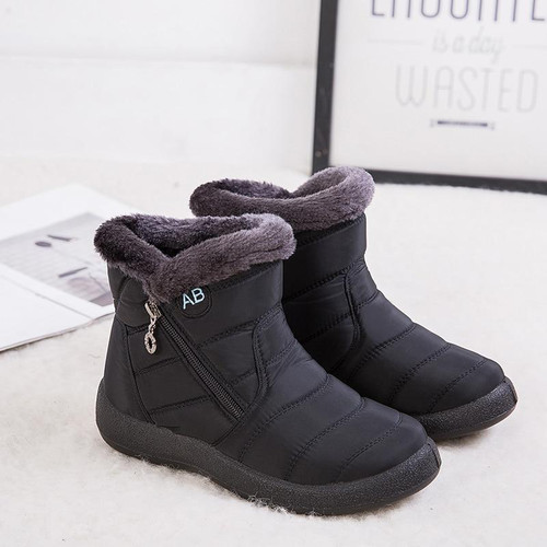 Women Boots Waterproof Snow Boots Female Plush Winter Boots Ladies