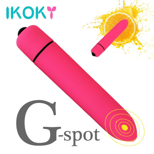 IKOKY 10 Speed Bullet Vibrator Dildo Vibrator for Women G-spot Vagina Massager Sex Toys for Women Female Adult Products