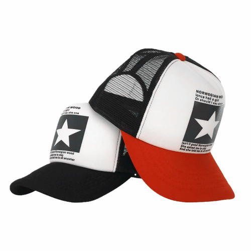 Fashion pointed Star Brand Baseball Cap Outdoor Baseball Hat Breathable men women