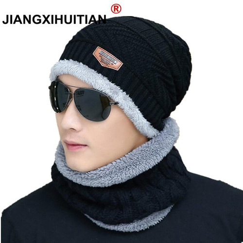 Winter Hats Skullies wool Beanies For Men Women