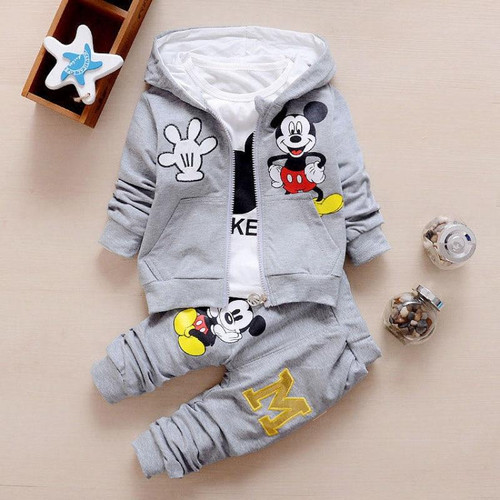 Toddler Baby Girls Boys Clothing Sets Spring Autumn Kids Children Outfits Hoodie