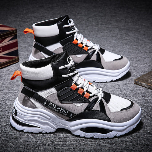 Gorgeous High Ankle Sneakers Shoes For Men