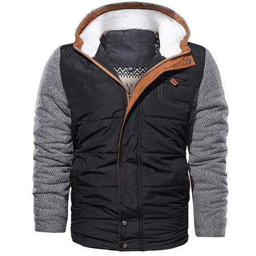Casual Autumn And Winter Men Jacket Coat  Urban Fashion Thick Warm Parka Jackets