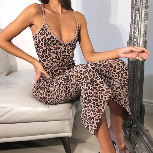 Elegant Sexy Women's Printed Dress