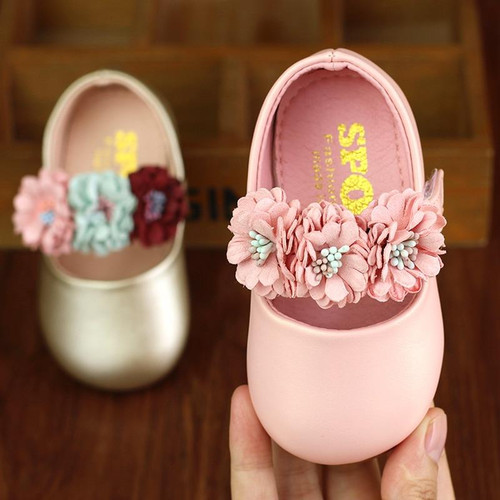 Baby Toddler Shoes Spring And Autumn 0-6-12 Months Baby Princess Leather Shoes Toddler Girl Shoes - Joelinks store