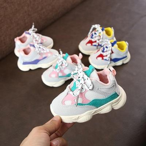 2019 Autumn Baby Girl Boy Toddler Comfortable Stitching Color Children Shoes Infant Casual Running Shoes Soft Bottom  Sneaker Shoe online Shoe on Sale - Joelinks store