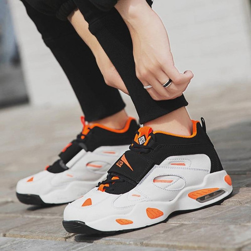 2019 New Light Runing Retro Shoes Mens Basquete Tenis Trainers Air Cushioning - Joelinks store