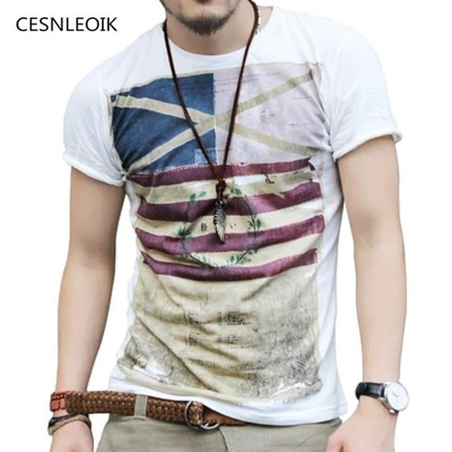 New Mens  T shirt Man Men's T-shirt men's brand fashion round neck T shirt men B97 - Joelinks store